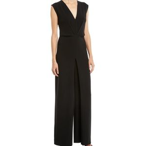 Theory jumpsuit in crepe